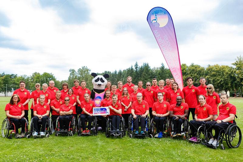 Deutsche Para - Leichtathletik EM Team 2018