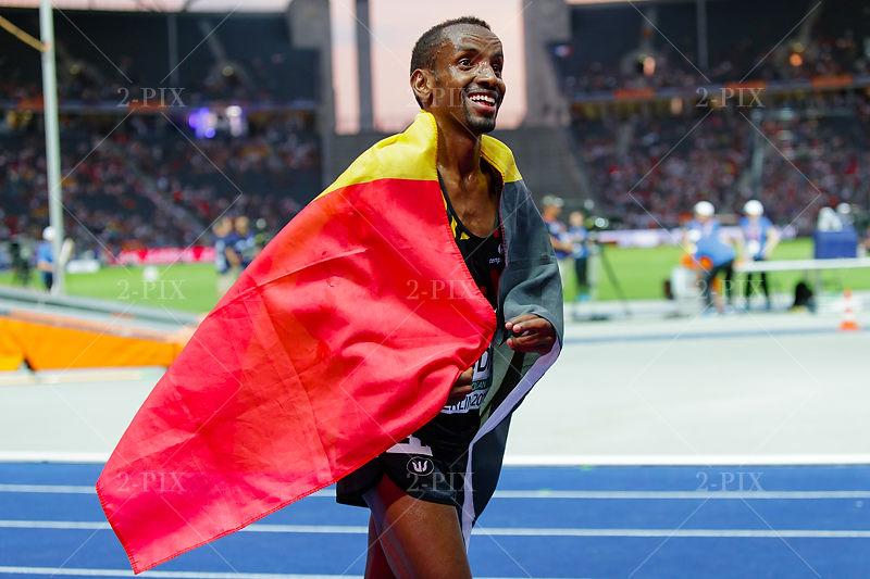 ABDI Bashir (BEL) at 2018 European Athletics Championships, 07.08.2018, Olympiastadion Germany. Photo: Binh Truong