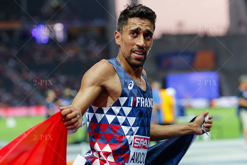 AMDOUNI Morhad (FRA) at 2018 European Athletics Championships, 07.08.2018, Olympiastadion Germany. Photo: Binh Truong