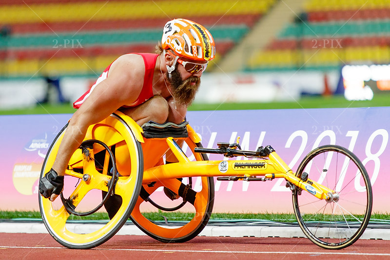 GEIERSPICHLER, Thomas (AUT), European Championships Para- Athletics Berlin 2018