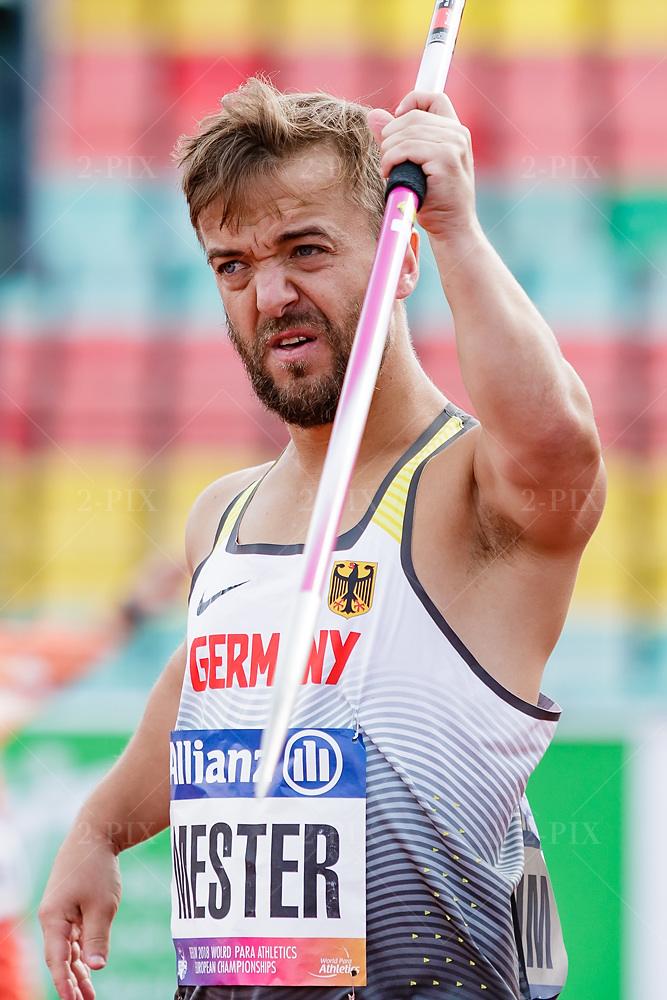 MESTER, Mathias (GER) / Speer / Europameister 2018
