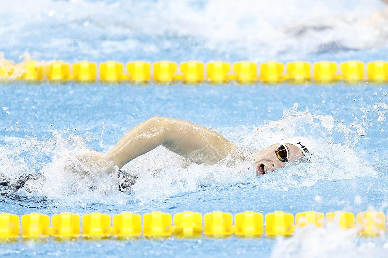 BARRA DA TIJUCA, BRASILIEN - SEPTEMBER 09: Denise Grahl (GER) vom Hanse-Schwimmverein Rostock e.V./Mecklenburg-Vorpommern [Paralympische Klassifizierung: S7/SB7/SM7] Denise Grahl (GER) Denise Grahl Grahl während des Finals Women´s 50M Freestyle in der Barra - Parque Aquatico Maria Lenk von Barra da Tijuca am 09.9.2016 in Rio de Janeiro/Brasilien.Foto: Binh Truong/DBS
