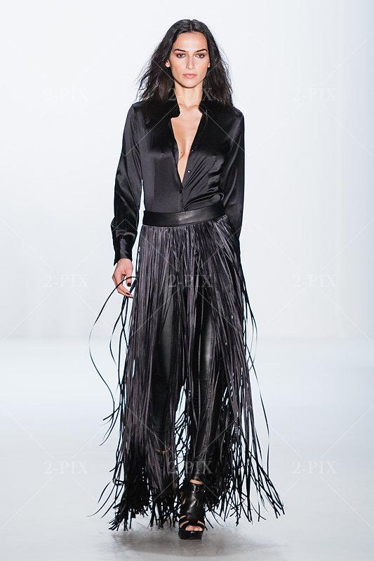 Designer Dimitri bei der Mercedes Benz Fashion Week Show - Berlin Fotograf: Binh Truong