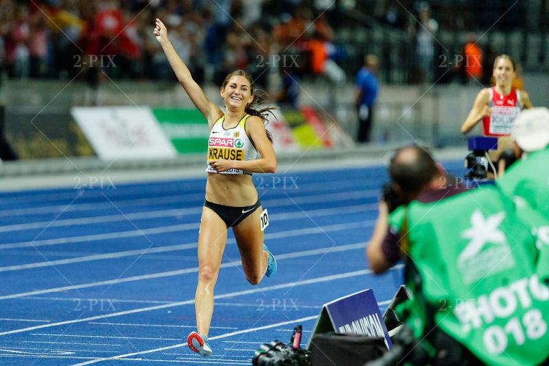 Gesa-Felicitas Krause (GER)/ Women's 3000, Gold