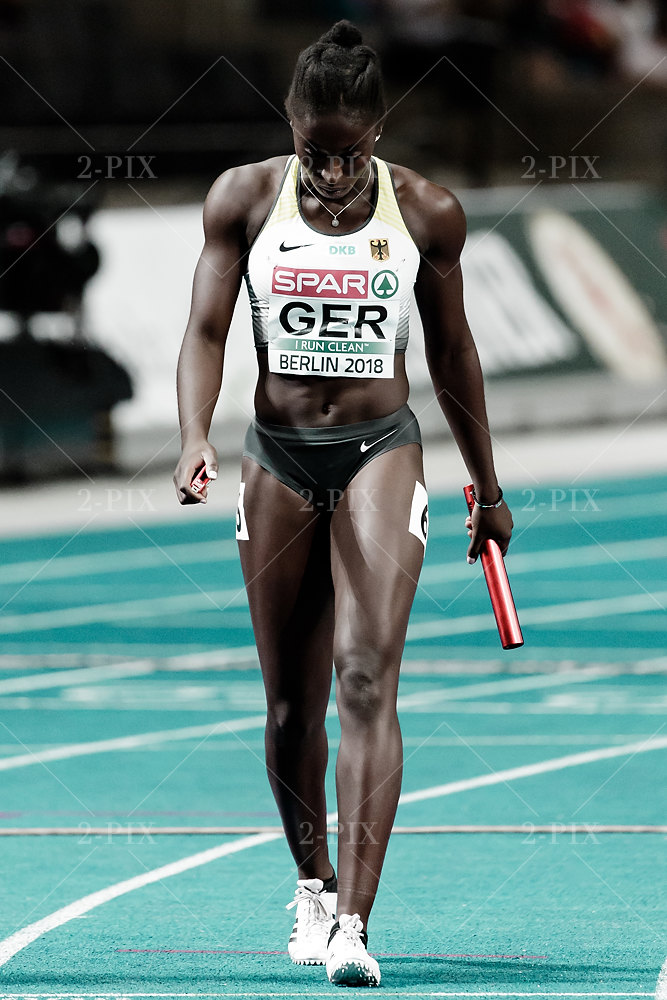 Lisa Marie Kwayie (GER) / 4 X 100m RELAY WOMEN