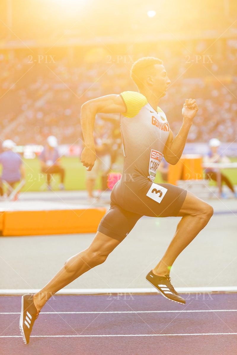 Luke Campbell (GER) / 400-Meter-Hürdenlauf