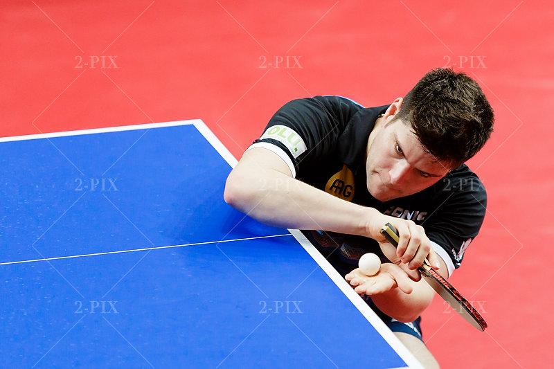 OVTCHAROV Dimitrij (GER) während der German Open 2018 - Herren-Einzel in der ÖVB-Arena, Bremen am 22.03.2018, Germany. Foto: Binh Truong