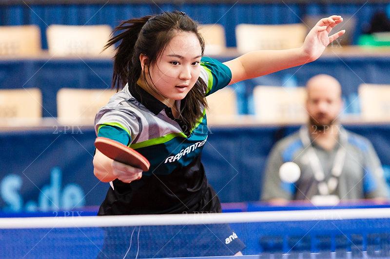 Qian Wan (GER) deutsche Tischtennisspielerin // Photo: Binh Truong