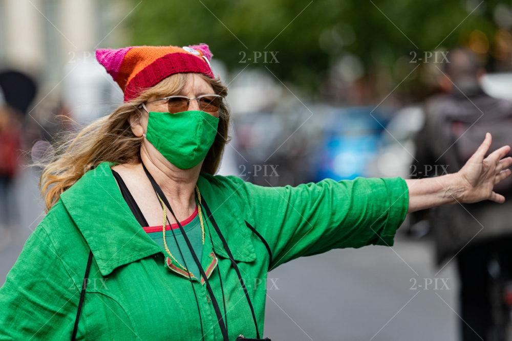Berlin, Germany - 30.05.2020: Maske 30.05.2020 in Berlin, Berlin, Germany. Photo: Binh Truong
