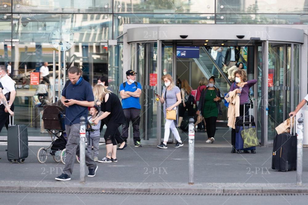 Berlin, Germany - 15.06.2020: Reiselockerungen , Germany. (Photo: Binh Truong)